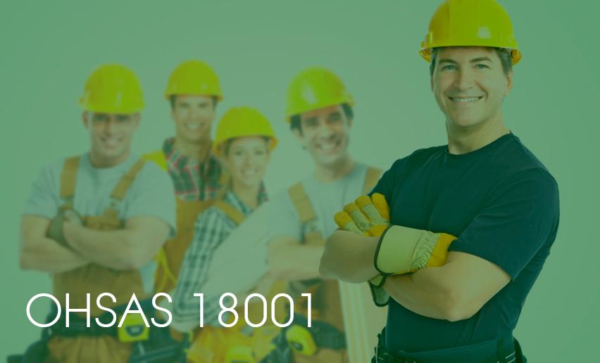 Saúde e Segurança – OHSAS 18001